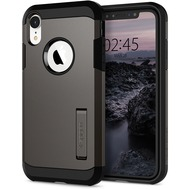 Spigen Tough Armor for iPhone XR gun metal
