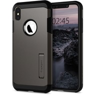 Spigen Tough Armor for iPhone XS Max gun metal