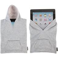 Splash Brands Kapuzenpulli-Schutzhülle Hoodies für iPad 2/ 3/ 4, hellgrau