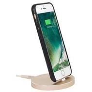 Stilgut AirDock Oval - iPhone Dockingstation - gold