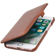 Stilgut Book Type Case mit Clip für iPhone 7 /  8, cognac