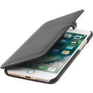 Stilgut Book Type Case mit Clip für iPhone 7 Plus /  iPhone 8 Plus, schwarz