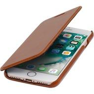 Stilgut Book Type Case ohne Clip für iPhone 7 /  8, cognac
