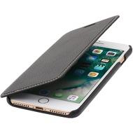 Stilgut Book Type Case ohne Clip für iPhone 7 Plus /  iPhone 8 Plus, schwarz