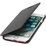 Stilgut Book Type Case ohne Clip  für iPhone 7, schwarz