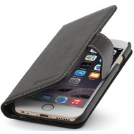 Stilgut Leder-Hülle Talis für Apple iPhone 6/ 6S, schwarz