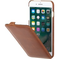 Stilgut UltraSlim Case für Apple iPhone 7 Plus /  iPhone 8 Plus, cognac