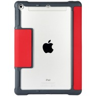 STM STM Dux Case, Apple iPad 9,7 (2017 & 2018), rot/ transparent, STM-222-160JW-29