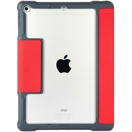 STM STM Dux Plus Case, Apple iPad 9,7 (2017 & 2018), rot/ transparent, STM-222-165JW-02