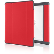 STM STM Dux Plus Case, Apple iPad Pro 12,9 (2017), rot/ transparent, STM-222-165L-29