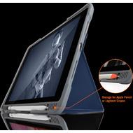 STM Dux Plus DUO Case, Apple iPad 10,2 (2019), midnight blau/ transparent, STM-222-236JU-03