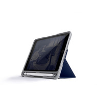 STM Dux Plus DUO Case, Apple iPad mini 5 (2019) /  4, midnight blau/ transparent, STM-222-236GY-03