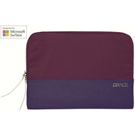 STM Grace Sleeve 13, Microsoft Surface Pro X/ 7/ 6/ 5/ LTE, dark purple, STM-114-106M-45