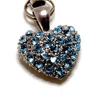 Stylebazar Glimmering Heart türkis