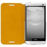 SwitchEasy FLIP für HTC One (M7), Tanned Yellow