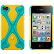 SwitchEasy Rebel X für iPhone 4/ 4S, türkis-gelb