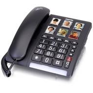 Switel TF540 Big Button Telefon, schwarz