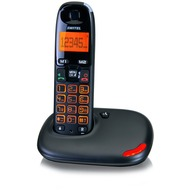 Switel Vita DC5001, schnurloses DECT-Telefon, schwarz