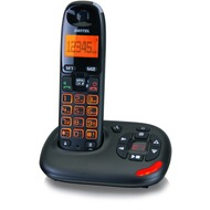 Switel Vita DCT50071, schnurloses DECT-Telefon mit Anrufbeantworter, schwarz
