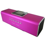 @tec Music Angel 6in1 Mini Stereo Lautsprecher 6 Watt (2x 3W) Boxen in Pink