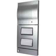 Telegärtner Doorline a/ b T01 /  T02 mit 2. Relais (silber)