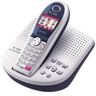 Telekom Sinus 712A Komfort aquablau/ silber