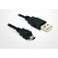 Telme Datenkabel (USB + Mini-USB)