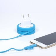 "Thumbs Up 2in1 Ladekabel ""Yo-Yo"" (EU-Stecker) - iPhone 5/ 6 and Micro USB"