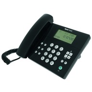 Tiptel 1030 schwarz Komfort-Telefon