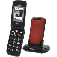 Tiptel Ergophone 6232, rot