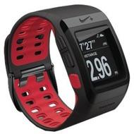 TomTom NIKE + SportWatch GPS antrazit/ red ohne Schuhsensor