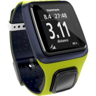 TomTom RUNNER GPS-Laufuhr, grün/ dunkelblau (Limited Edition)