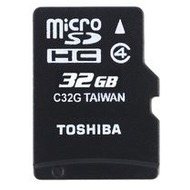 Toshiba HIGH SPEED M102 - microSD Speicherkarte mit Adapter, 32 GB
