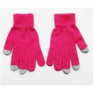 Touchscreen-Handschuhe (kapazitiv) Größe M-L, pink