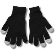Touchscreen-Handschuhe (kapazitiv) Größe S-M, schwarz