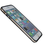 TPU Bumper/ Schutzhülle - Apple iPhone 6 Plus - Schwarz Transparent