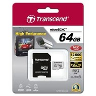 Transcend 64GB mircoSDHC, Class 10, Video Recording