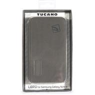 Tucano Libro Hülle für Samsung Galaxy Note II, Grey