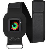 twelve south ActionSleeve Neopren Armband für 38mm Apple Watch, black