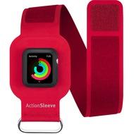 twelve south ActionSleeve Neopren Armband für 38mm Apple Watch, red