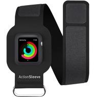twelve south ActionSleeve Neopren Armband für 42mm Apple Watch, black