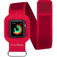 twelve south ActionSleeve Neopren Armband für 42mm Apple Watch, red