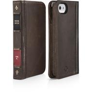 twelve south BookBook für iPhone 5/ 5S/ SE, braun