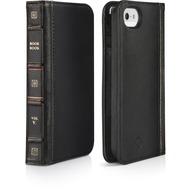 twelve south BookBook für iPhone 5/ 5S/ SE, schwarz
