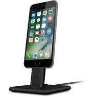 twelve south HiRise Deluxe 2 Desktop Stand inkl. Lighting und Micro-USB-Kabel for iPhone, Smartphones, black