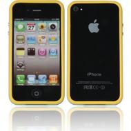 Twins 2Color Bumper für iPhone 4/ 4S, gelb-schwedenblau