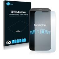 Twins 6x SU75 UltraClear Displayschutzfolie für Alcatel One Touch Hero 2