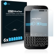 Twins 6x SU75 UltraClear Displayschutzfolie für Blackberry Classic Q20
