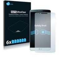 Twins 6x SU75 UltraClear Displayschutzfolie für LG G3 D855