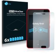 Twins 6x SU75 UltraClear Displayschutzfolie für Nokia Asha 501